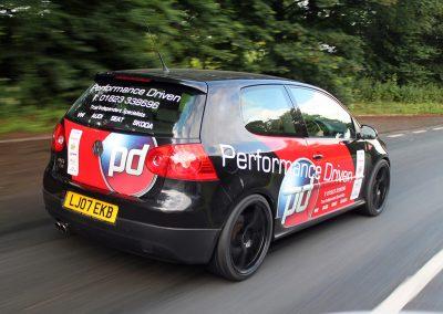 Performance Driven Golf Project Car Mk V Golf GTI