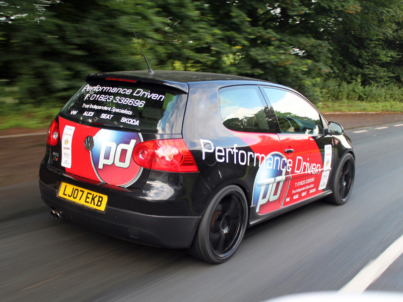 Performance Driven Golf Project Car Mk V Golf GTI