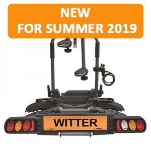 """NEW Witter """"Pure Instinct"""" Towball Mounted 2 Bike Cycle Carrier"""